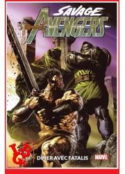 SAVAGE  AVENGERS 100% / 2 (Sept 2020) Dîner avec Fatalis par Panini Comics libigeek 9782809489231