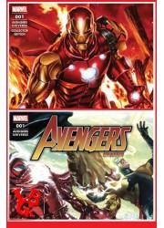 AVENGERS UNIVERSE 1 - Lot de 2 Mensuels (Avr 2021) + VARIANT COVER Vol. 01 par Panini Comics - Softcover libigeek 9782809497588