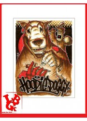 HOODIE DOGGY 8 Print 42x 30 cm OPOIL Print Signé Numéroté signed libigeek 9782809487329