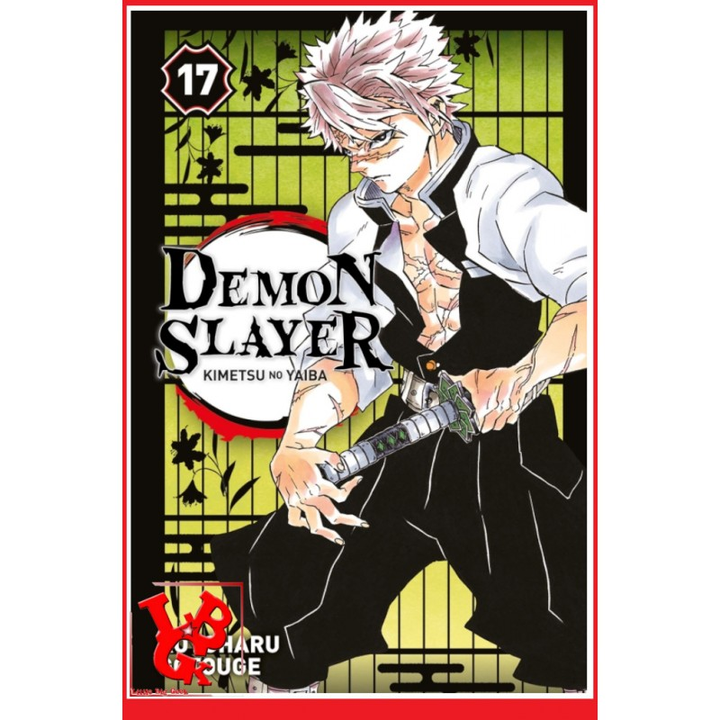 DEMON SLAYER 17 (Mai 2021) Vol. 17 - Shonen par Panini Manga libigeek 9782809496987