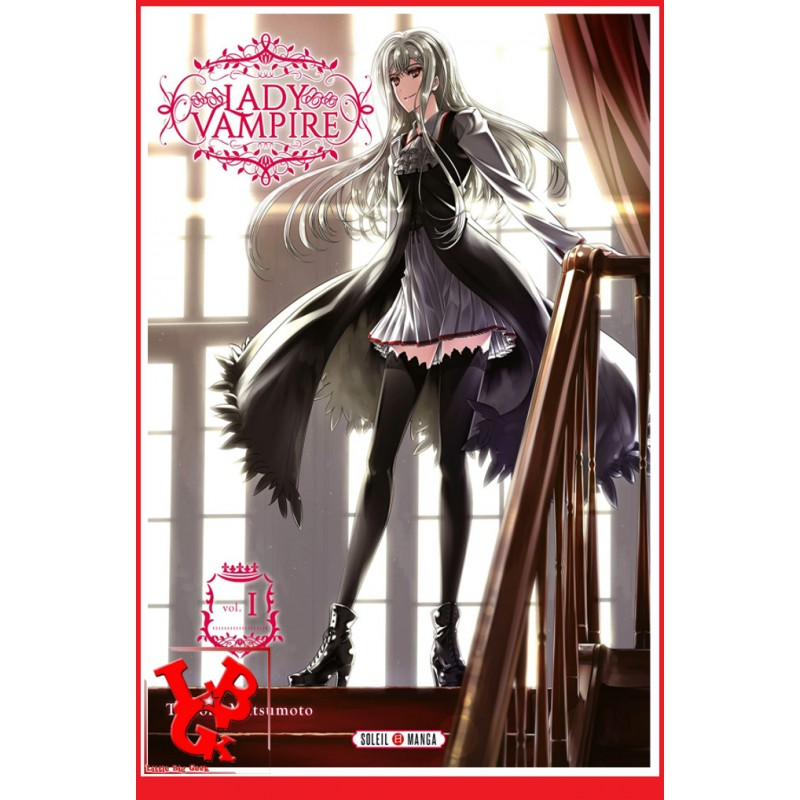 LADY VAMPIRE 1 (Fev 2019) Vol. 01 - Shonen par Panini Manga libigeek 9782302073975