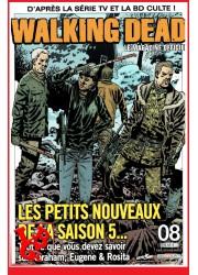 THE WALKING DEAD Le Magazine Officiel 8 Mensuel (Oct 2014) par Delcourt libigeek 9782756054537