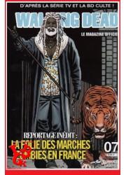 THE WALKING DEAD Le Magazine Officiel 7 Mensuel (Juil 2014) par Delcourt libigeek 9782756054537