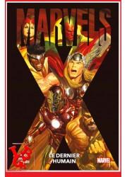 MARVELS X 100% Marvel (Dec 2020) Le dernier humain - Alex ROSS par Panini Comics libigeek 9782809491340