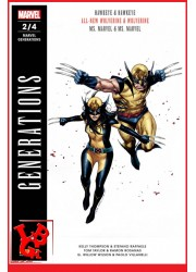 MARVEL GENERATIONS 2 - Mensuel (Avr 2018) Vol. 02 par Panini Comics libigeek 9782809470307