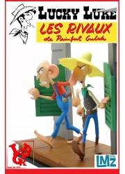 LUCKY LUKE : Les rivaux de Painful Gulch Statue 1/12 par LMZ Collectibles libigeek 3770017509052