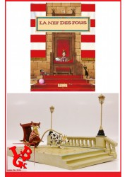 LA NEF DES FOUS / Turf - Diorama CLEMENT XVII et son carosse par Like an Angel libigeek 3700472005219