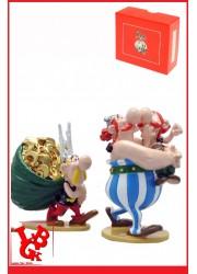 ASTERIX & OBELIX : Statue OBELIX et son cousin AMERIX par Pixi-plastoy little big geek 3521320023601 - LiBiGeek