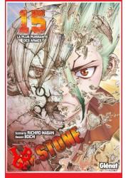Dr STONE 15 (Avr 2021) Vol. 15 Shonen par Glenat Manga little big geek 9782344045404 - LiBiGeek