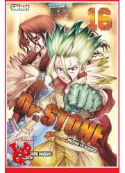 Dr STONE 16 (Juil 2021) Vol. 16 Shonen par Glenat Manga little big geek 9782344046623 - LiBiGeek