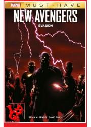 NEW AVENGERS / Evasion - Must Have Marvel par Panini Comics little big geek 9782809496871 - LiBiGeek