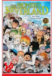 The Promised Neverland 20 (Juin 2021) Vol.20 - Shonen par KAZE Manga little big geek 9782820340887 - LiBiGeek