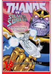 THANOS Vs Silver Surfer (Juil 2021) La renaissance de Thanos par Panini Comics little big geek 9782809496697 - LiBiGeek