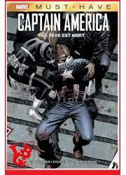 CAPTAIN AMERICA / LE  REVE EST MORT - Must Have Marvel par Panini Comics little big geek 9782809498004 - LiBiGeek