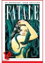 FATALE Intégrale 1 (Aout 2021) Phillips / Brubaker - Delcourt Comics little big geek 9782756095042 - LiBiGeek