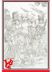 HARLEY QUINN Art Print Dc Comics 42x30 numéroté par FaNaTtik little big geek 5060662464706 - LiBiGeek