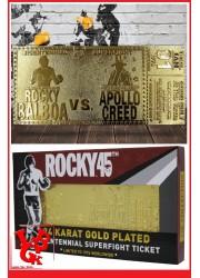 ROCKY BALBOA 45th Anniversary Bicentennial Ticket Plaque OR par FaNaTtik little big geek 5060662466472 - LiBiGeek