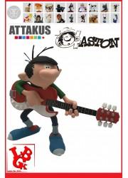 GASTON LAGAFFE Rock'n Roll FRANQUIN Statue par Attakus little big geek 3700472004953 - LiBiGeek