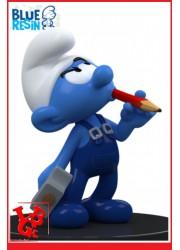 SCHTROUMPFS :  Le Schtroumpf bricoleur / Statue Résine 11cm par Puppy libigeek 5425007001105