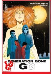 GENERATION GONE - Hi Comics libigeek 9782378870751