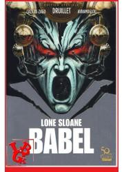 LONE SLOANE - Babel de Druillet par Glenat libigeek 9782356260192