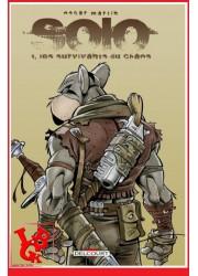 SOLO 1 (Sept 2014) Vol. 01 / Oscar Martin par Delcourt Comics libigeek 9782756041704