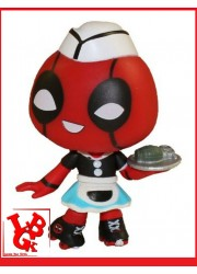 DEADPOOL CARHOP Serveuse 1/12 Mini Figure Mystery BobbleHead par FUNKO libigeek 889698309752