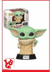 STAR WARS The Mandalorian : Figurine POP! 368 - THE CHILD (Baby Yoda) par FUNKO libigeek 889698487405